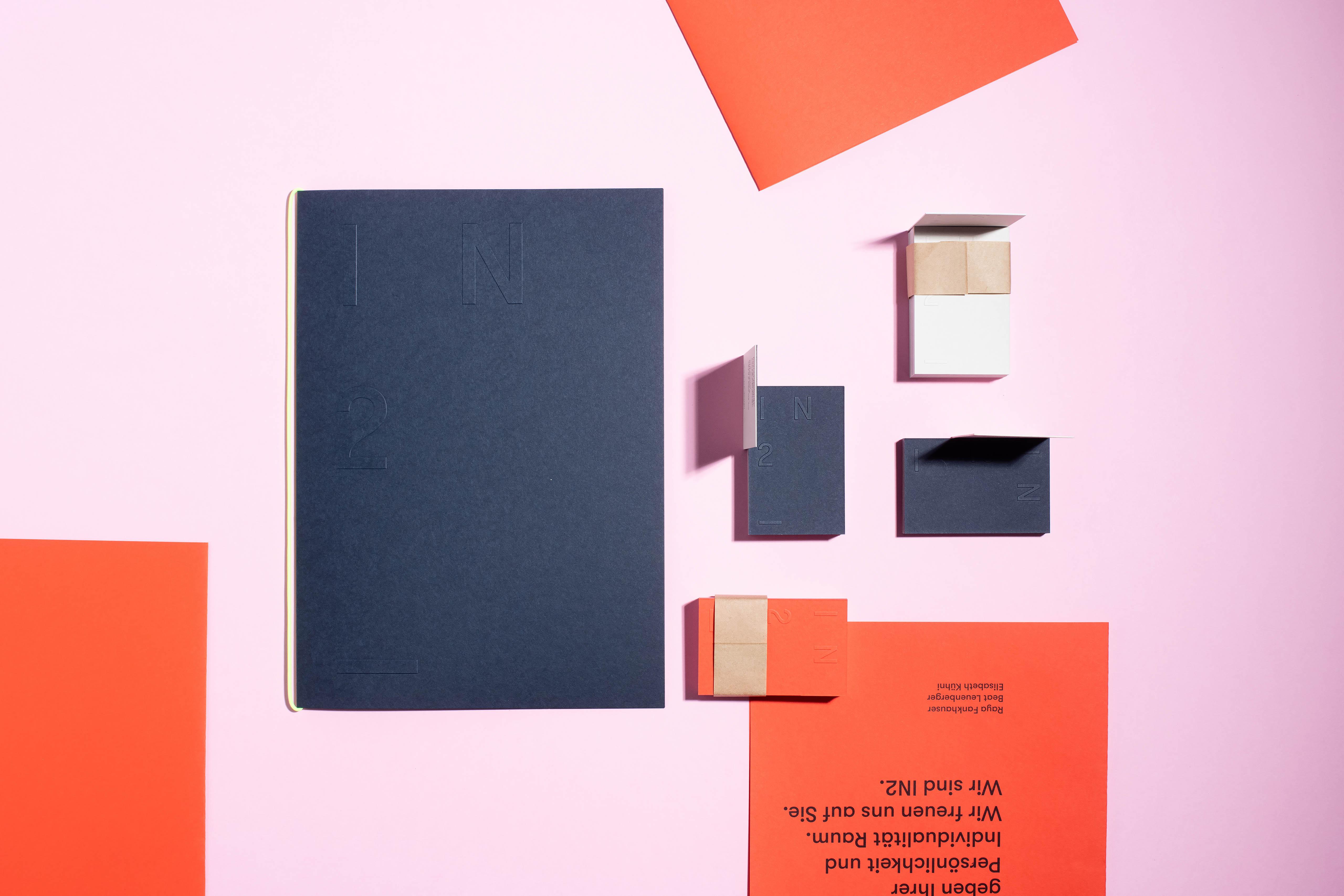 Melanie Brandel, Grafikdesign, Bern, Solothurn, Branding, Corporate Design, Webdesign, Briefschaften, In2 GmbH, Innenarchitektur Solothurn
